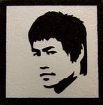 Bruce Lee - Coaster by ckatt01