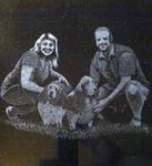 Commission Couple Bassett Hounds by ckatt01