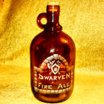 Dwarven Fire Ale - glass etching/engraving