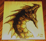 Pathfinder Blue Dragon - Pyro