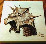 Pathfinder White Dragon - Pyro