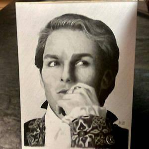 The Vampire Lestat - graphite portrait