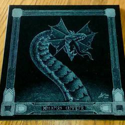 Dungeon Creeper - granite etching by ckatt01