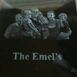 Family Portrait Commission - granite etching