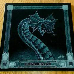 Dungeon Creeper - granite etching
