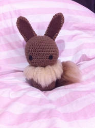 Eevee plushie by cuteasafox