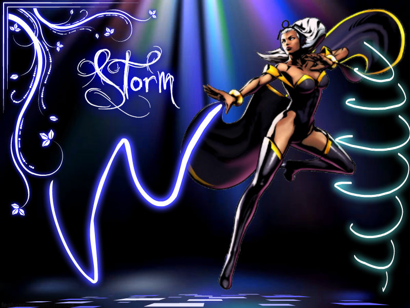 Storm X Men Wallpaper 63 Images: X-Men Storm Background/Wallpaper By Yvesia On DeviantArt