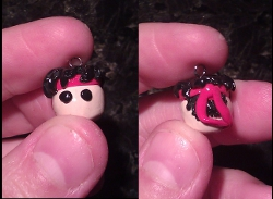 Street Fighter Ryu Charm by FallenAngelKrisi
