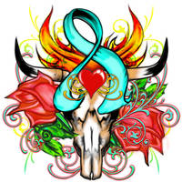 Cancer Society Tattoo by 13star