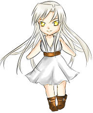 Another chibi OC by Fraiy