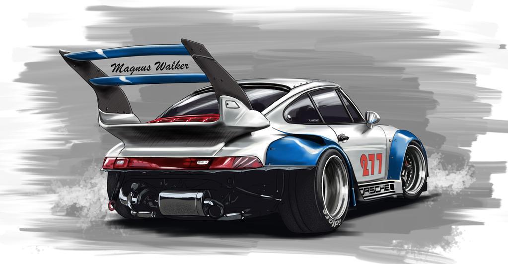 Rwb Porsche 911 By Mndls On Deviantart