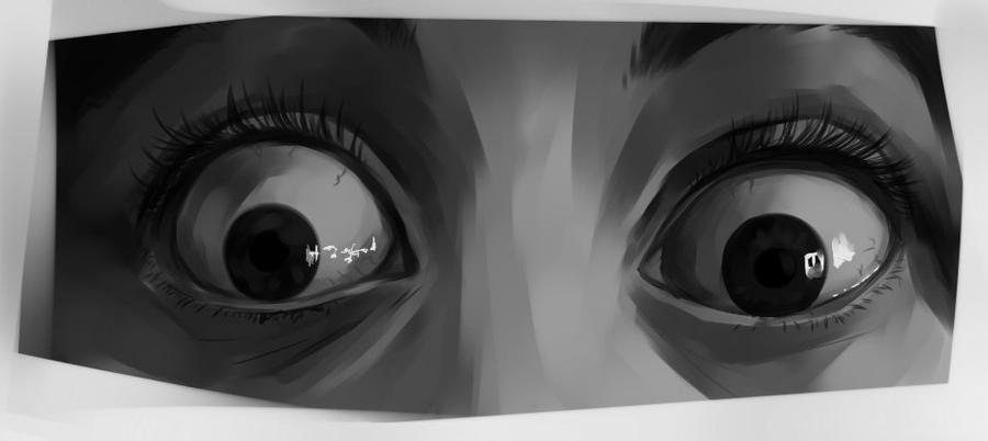 Scared Eyes By Uksusss On DeviantArt