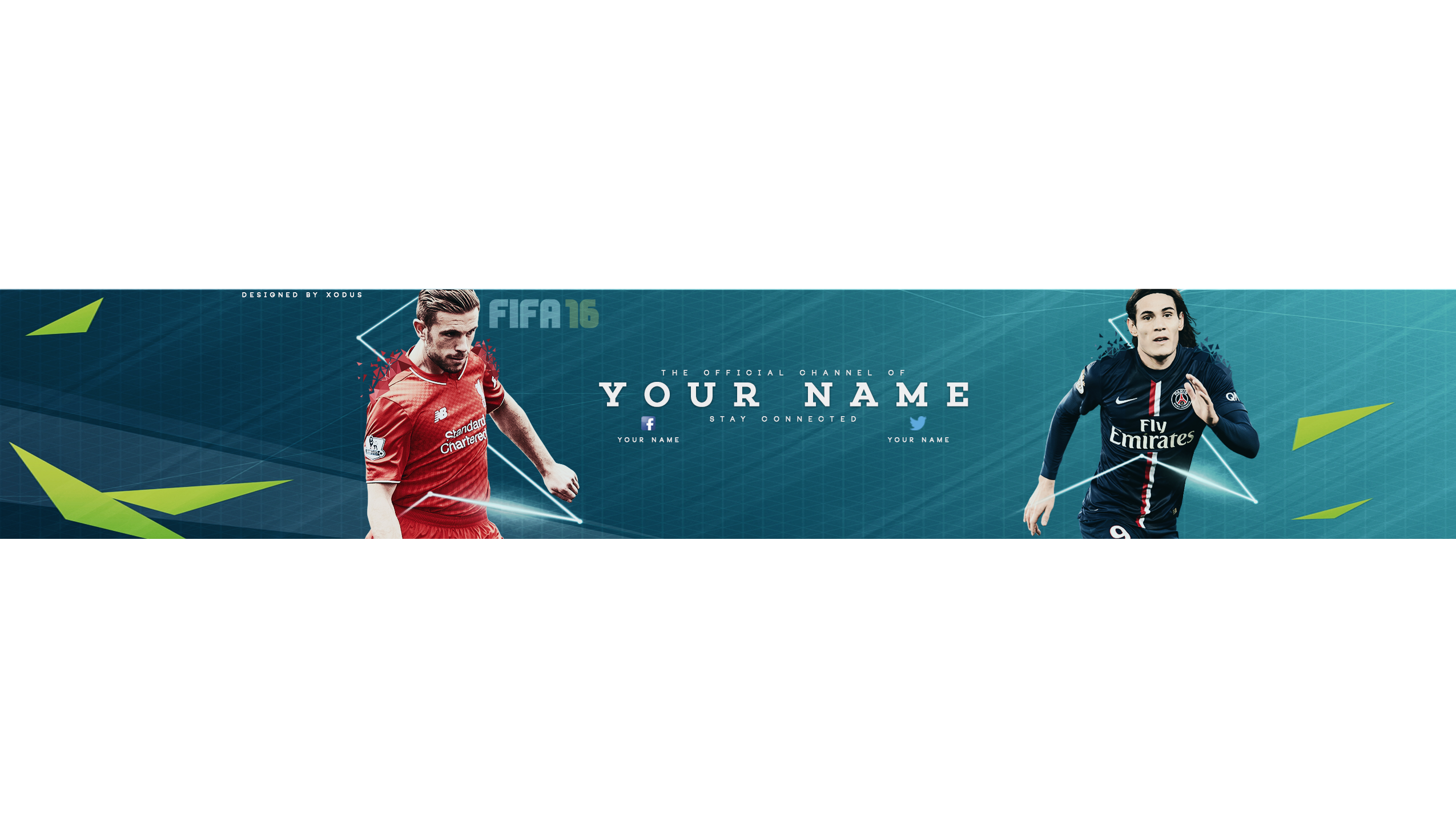 Youtube Banner Template 2015 Png - Its Every Templates and