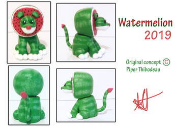 Watermelion - Cryptid-Creations