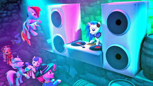 [SFM Ponies]: Rave at the Castle