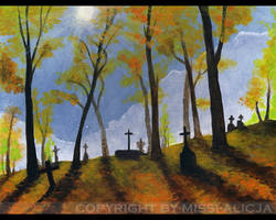 Graveyard by missi-alicja