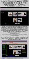 Simple CSS Gallery - TUTORIAL by missi-alicja