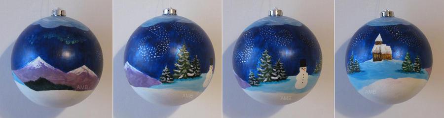 Christmas ornament II by missi-alicja