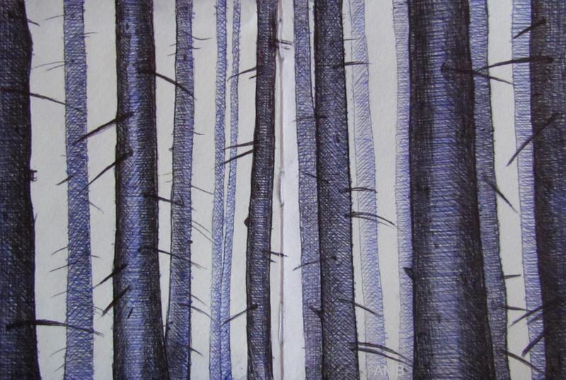 Gloomy Forest by missi-alicja