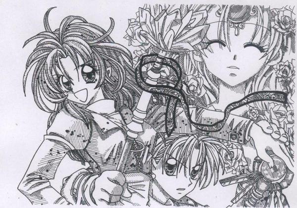 Time Stranger Kyoko by Kill-chan