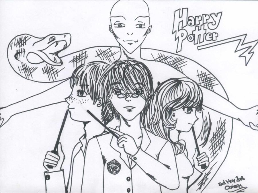 Harry Potter by Kill-chan