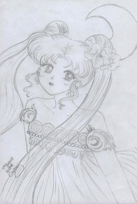 Sailor Moon Princess Serenity by Kill-chan