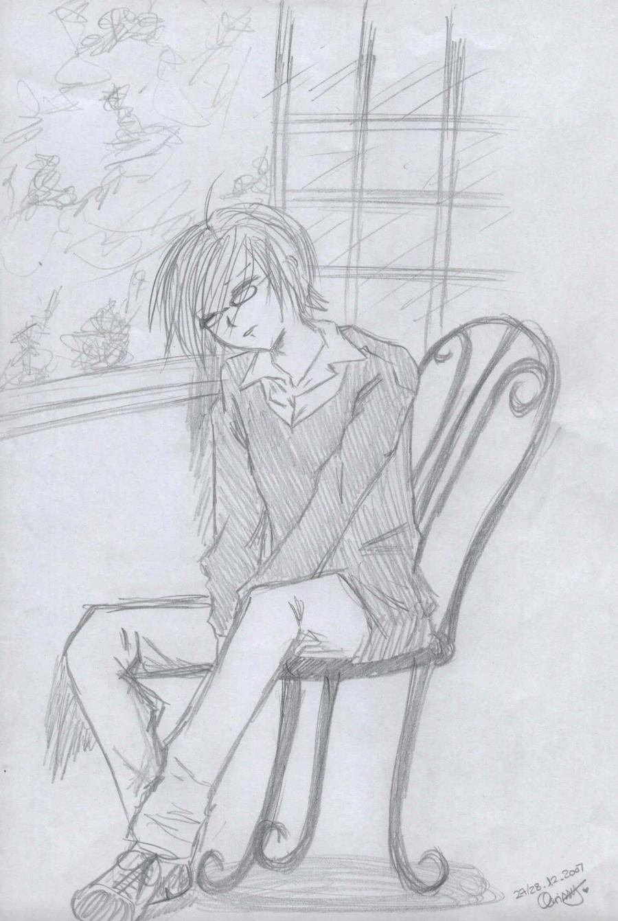 Sleeping Boy by Kill-chan
