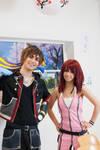 Kingdom Hearts Cosplay - Sora and Kairi