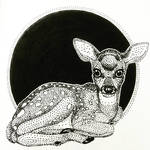 Inktober Day 21: The Fawn