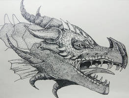 Portrait of a Dragon by artifexToils