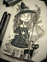 InkTober Day 8 by artifexToils