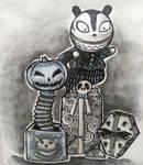 InkTober Day 28 by artifexToils