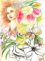 Blumenmaedchen by ElvensDay