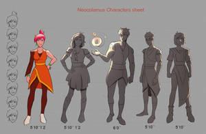 Neocolamus Character Sheet by JoseMan881