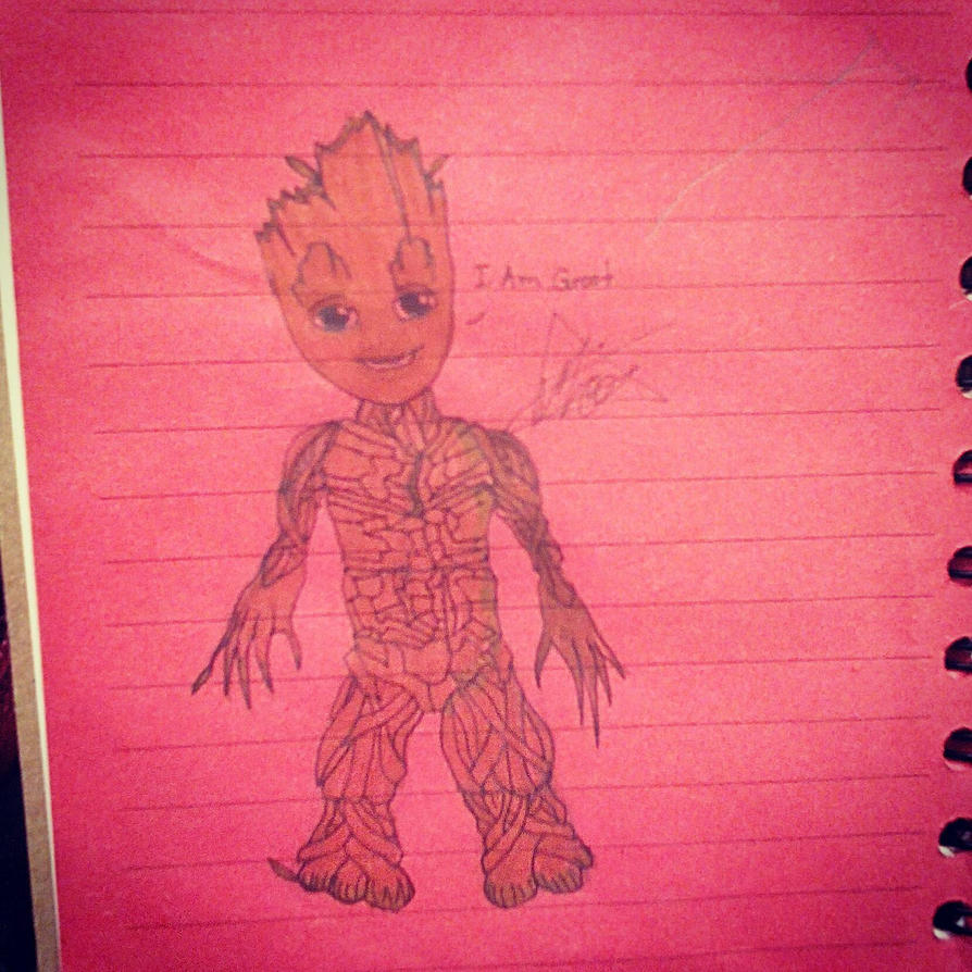 I Am Groot. by Mico-Amargo123
