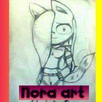 Nora art by JdigitalArtwork