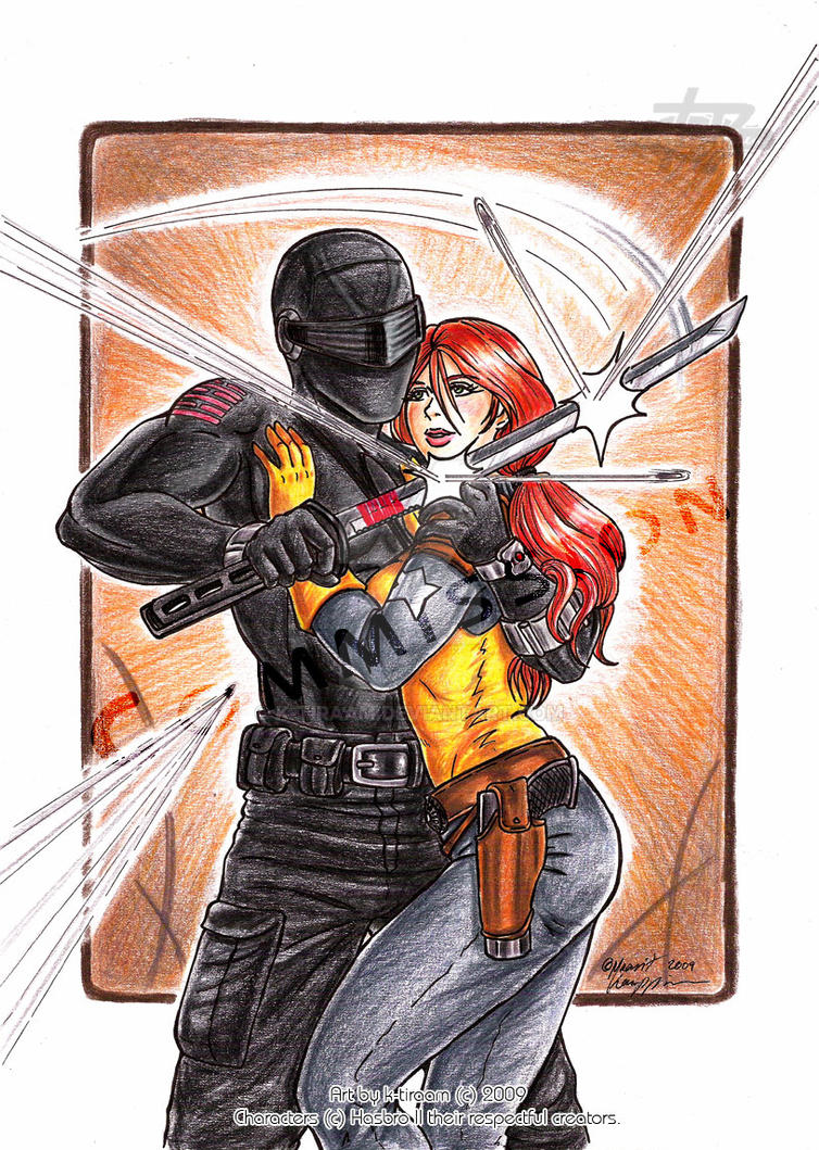 scarlett and snake eyes relationship questions