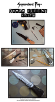 Cosplay Props: Supernatural's Demon Killing Knife