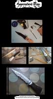 Cosplay Props: Supernatural's Demon Killing Knife by k-tiraam