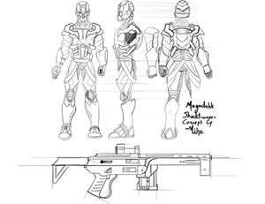 TimePulse Shocktrooper design