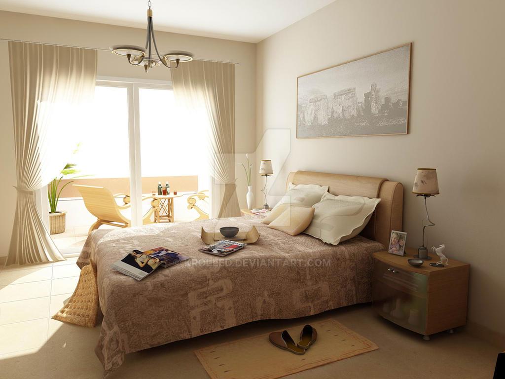 Bedroom by krolled
