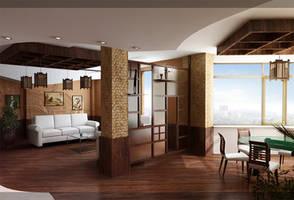 Livingroom by krolled