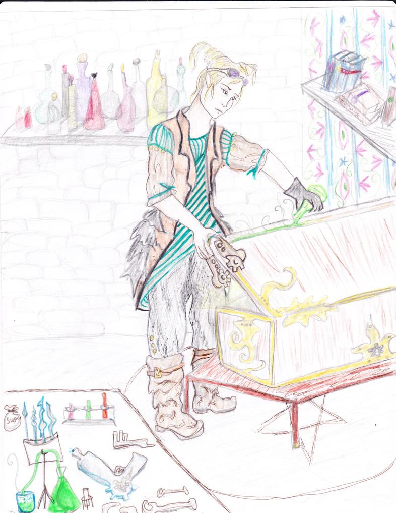 Hermetic Mechanic by Ekk-the-5ifth