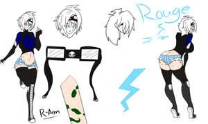 Rouge ref by Goku-Senpai