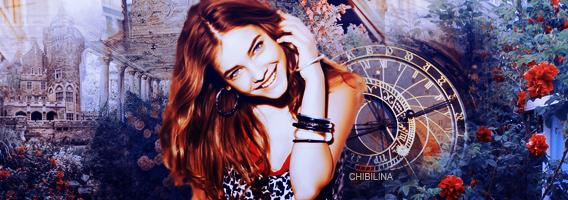 Barbara Palvin banner by Chibilina