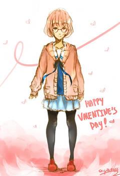 Happy Valentine's Day! (Mirai Kuriyama)
