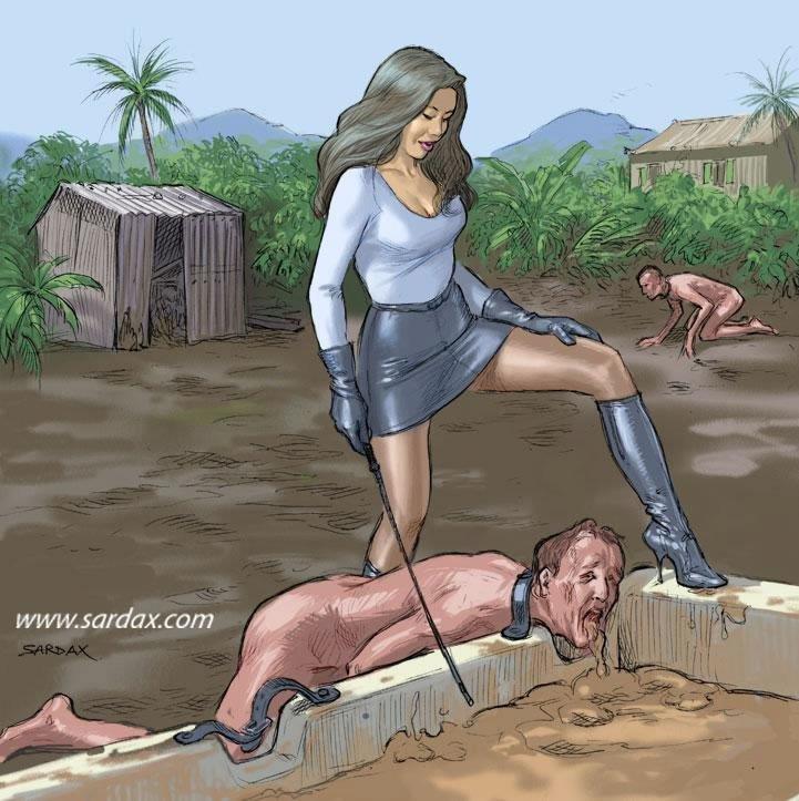 Slave pigs by Menkillers9