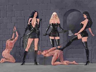 Executrix femdom by Menkillers