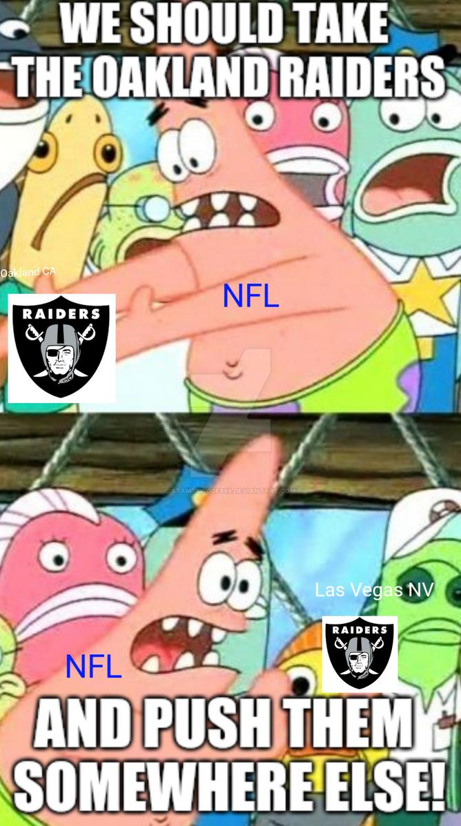 Nfl spongebob meme by stampywolf999