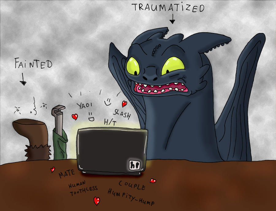 toothless rule34